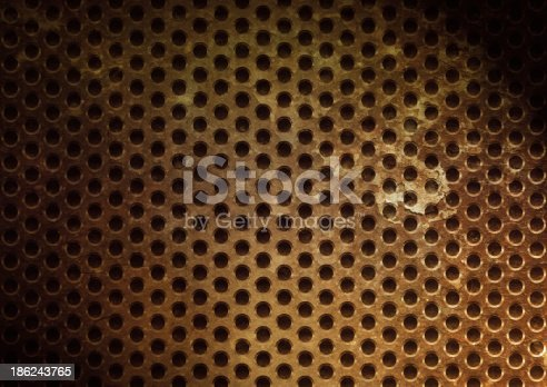 istock Steel metal plate background 186243765