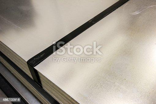 istock Steel mold 486700918