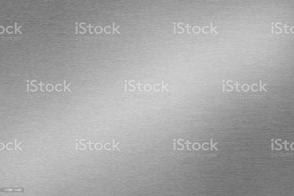 Steel or Aluminum Silver colour stock photo