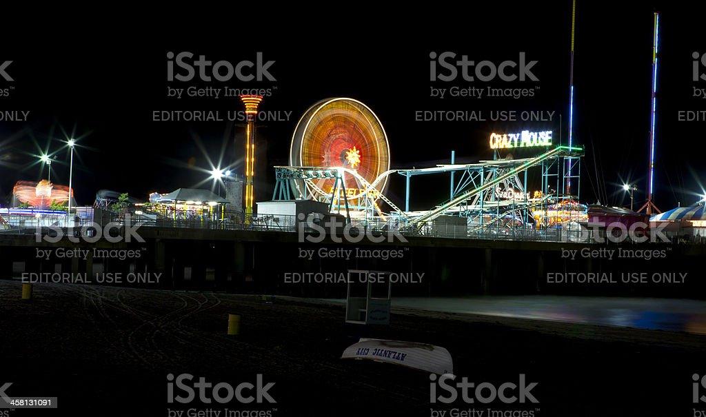 Steel Pier in Atlantic City royalty-free stock photo