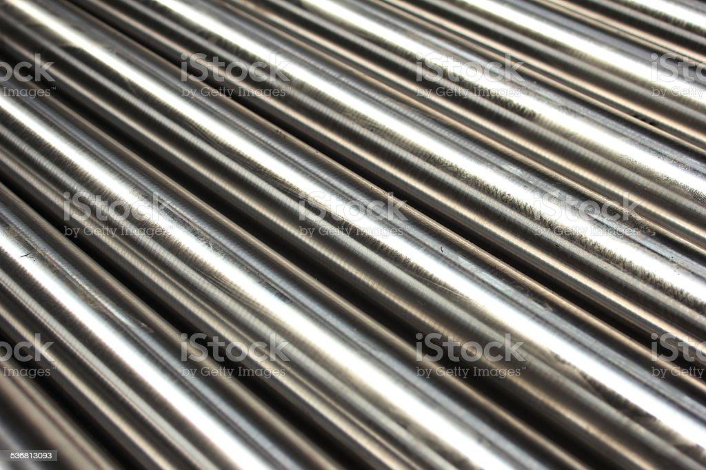 Steel pipe stock photo