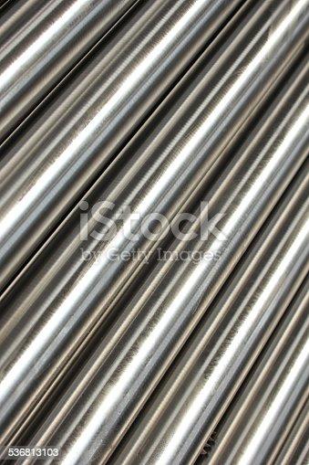 istock Steel pipe 536813103
