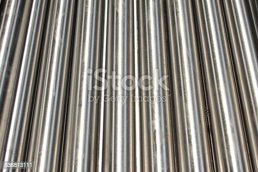 istock Steel pipe 536813111