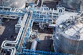 istock Steel pipelines in the Refinery 842810434