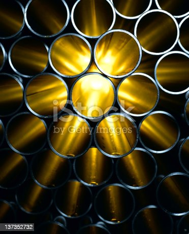 istock Steel Pipes 137352732