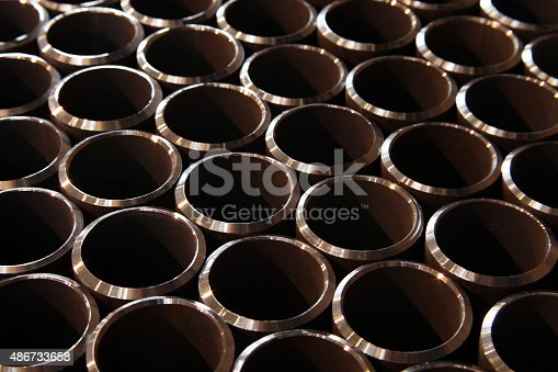 istock Steel pipes 486733658