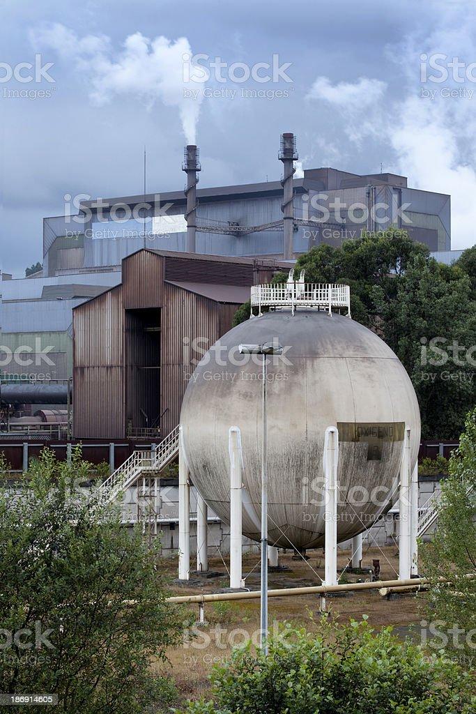 Steel Plant. stock photo