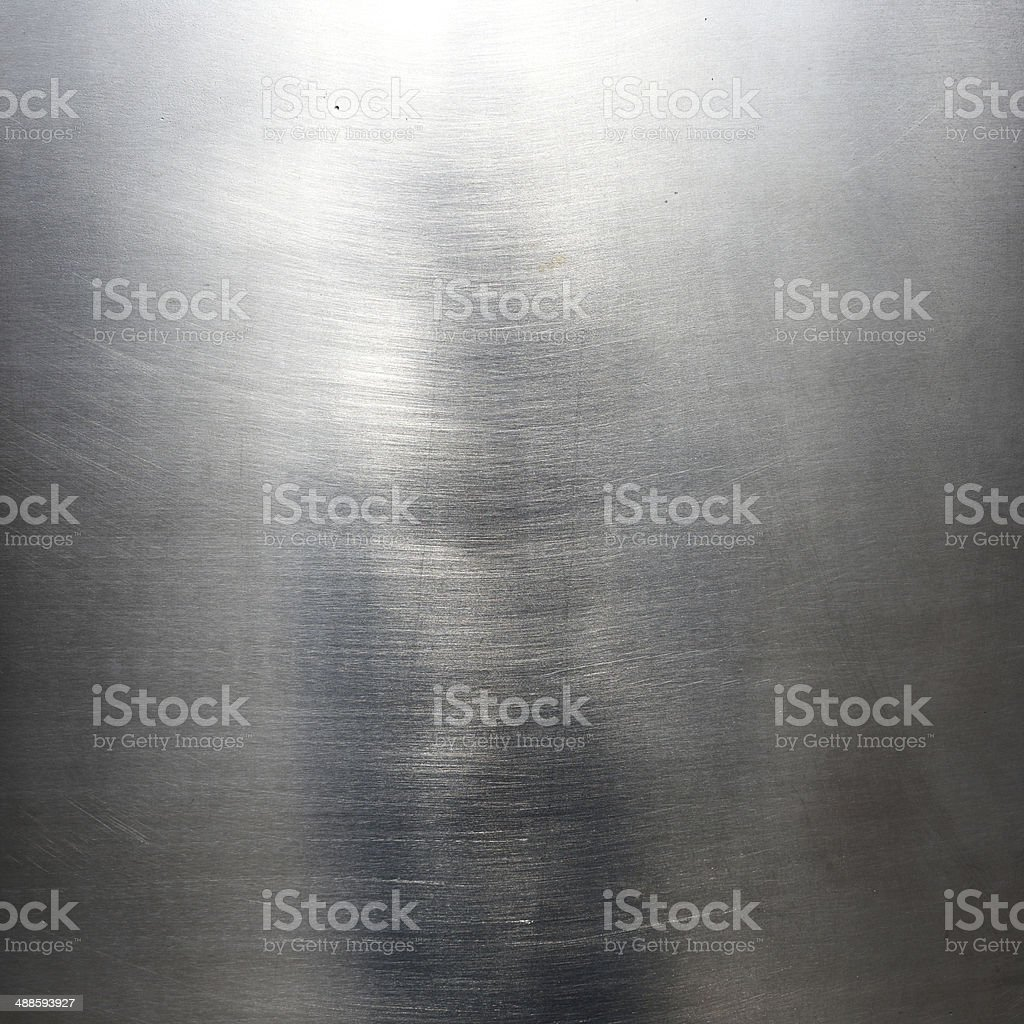 Steel plate - metal background or texture stock photo