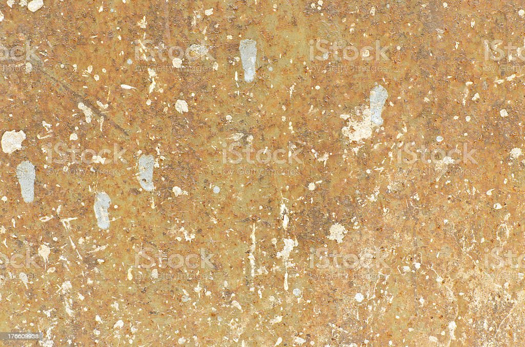 Steel plate rusty surface for background use royalty-free stock photo