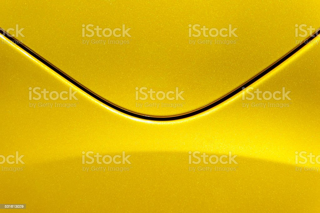 Steel post envelope stock photo