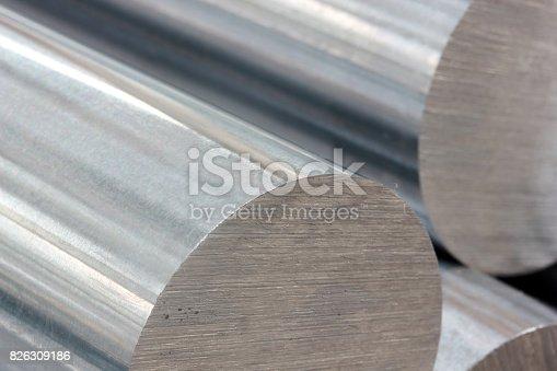 istock Steel Profiles 826309186