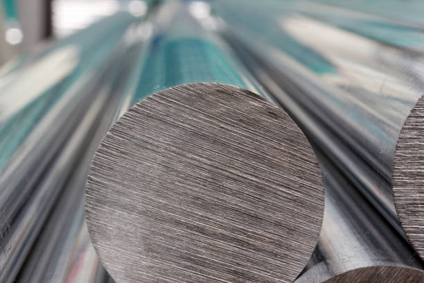 steel profiles - aluminium stock photos and pictures