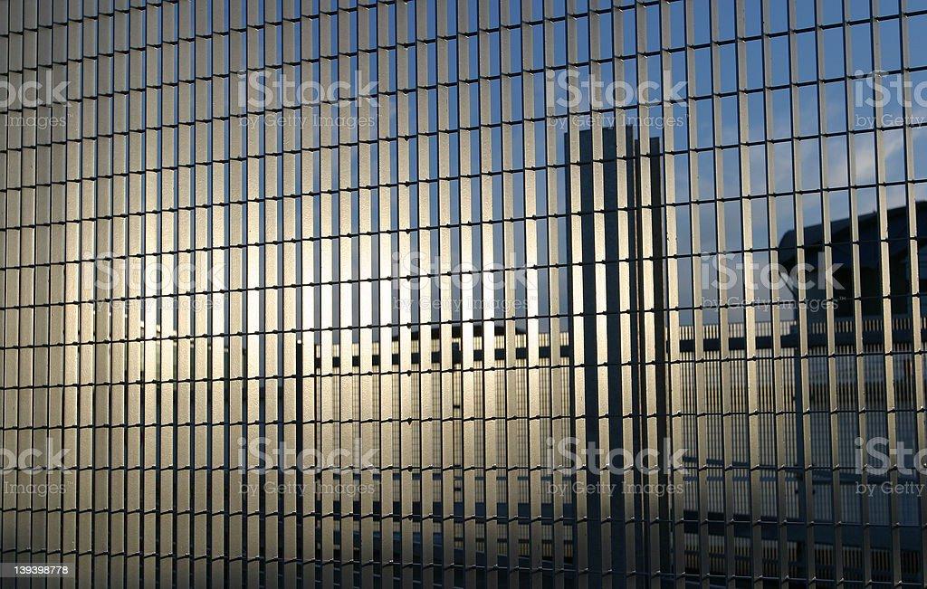 Steel Railings royalty-free stock photo