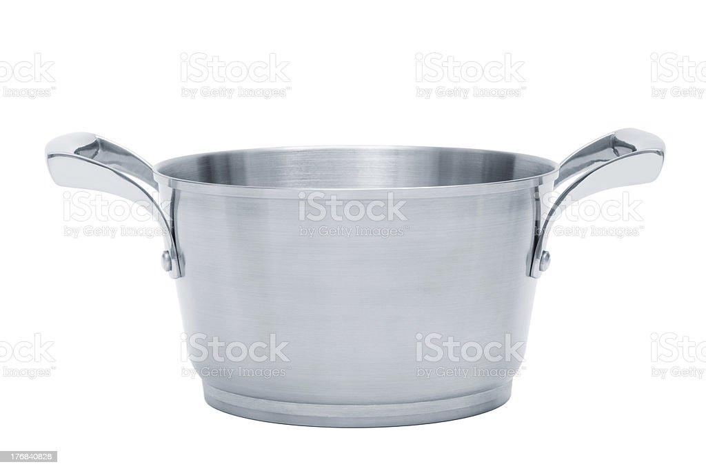 steel saucepan royalty-free stock photo