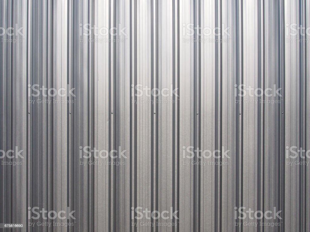 steel sheet roof stock photo