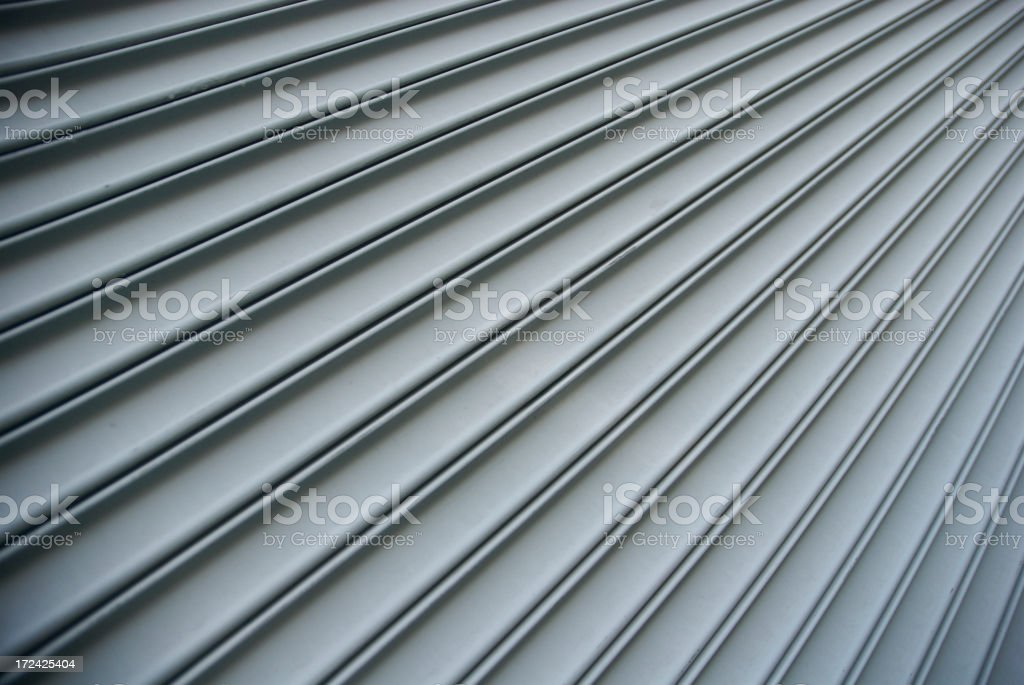 Steel Shutter Lines Background Diagonal Stripe royalty-free stock photo