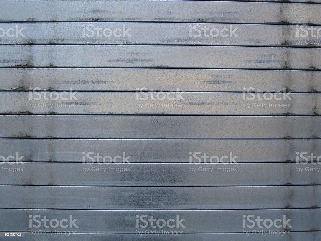 Steel Shutters royalty-free stock photo