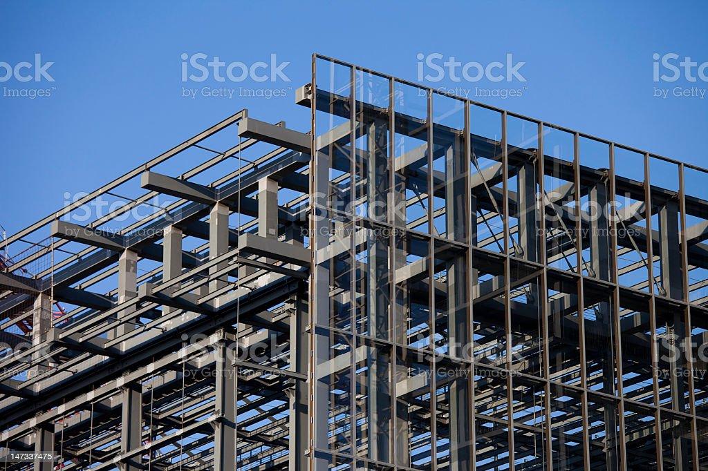 Fotografía de Estructura De Acero De Un Edificio En Construcción En ...