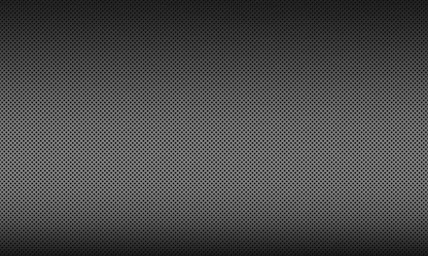 Steel texture background, Metal background with circle stock photo