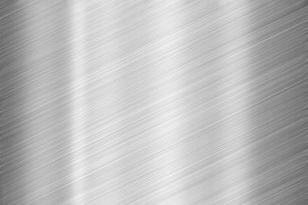 steel texture - platinum stock photos and pictures