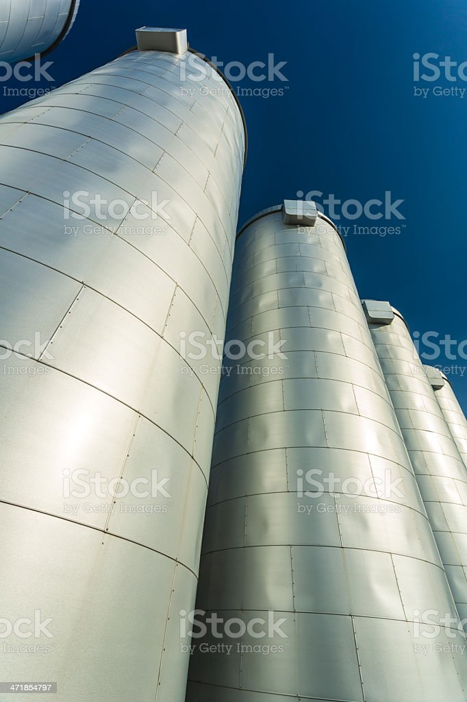 Steel vessels royalty-free stock photo