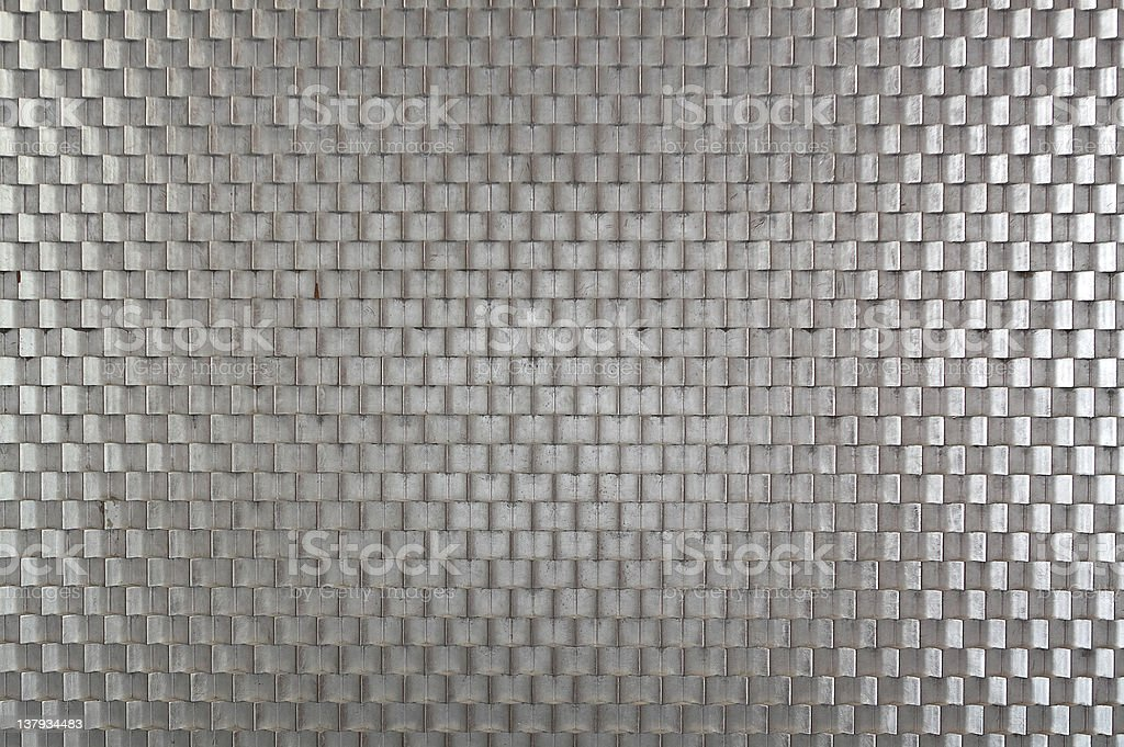 steel wall background stock photo