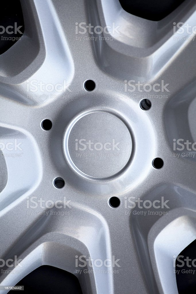 Steel wheel royalty-free stock photo