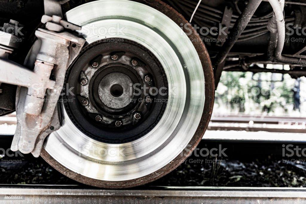 steel wheel stock photo