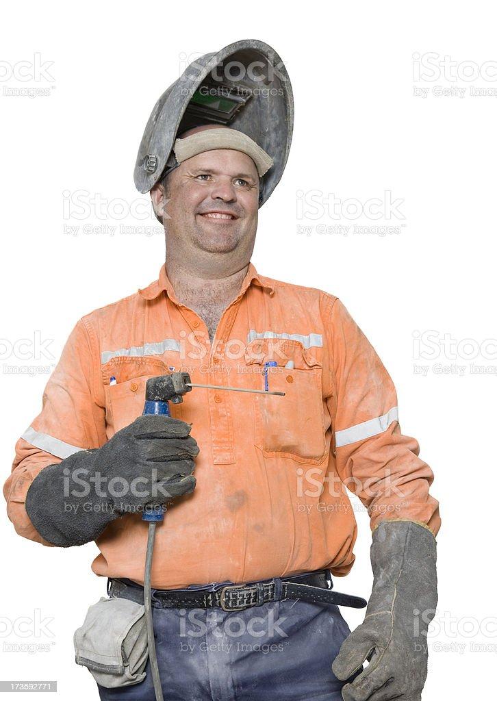 Steel Worker royalty-free stock photo