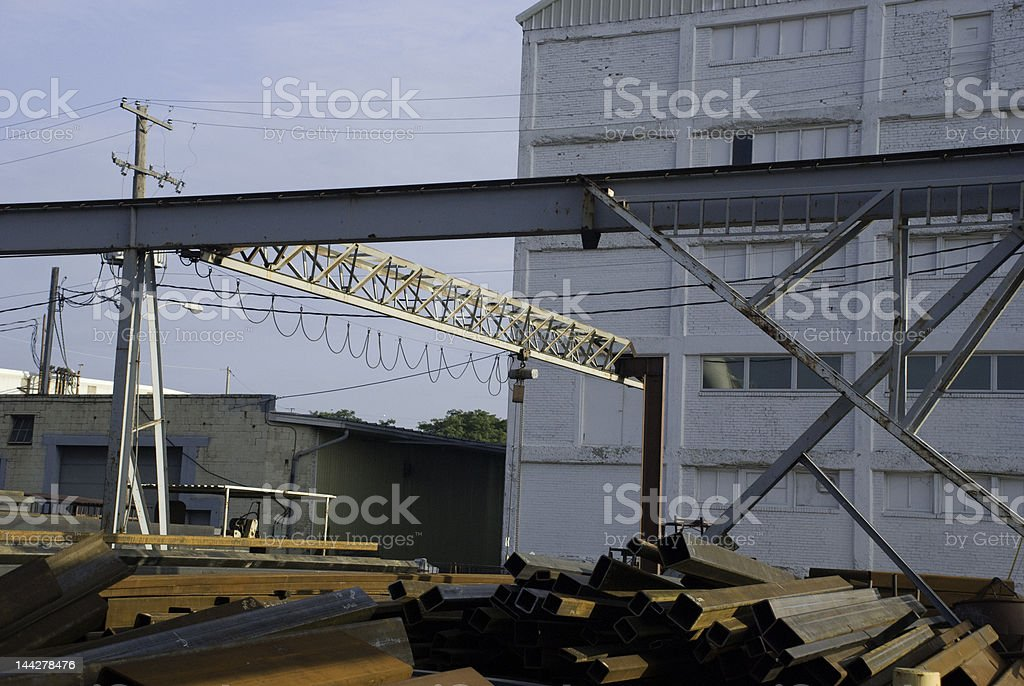 Steelyard Series 4 royalty-free stock photo