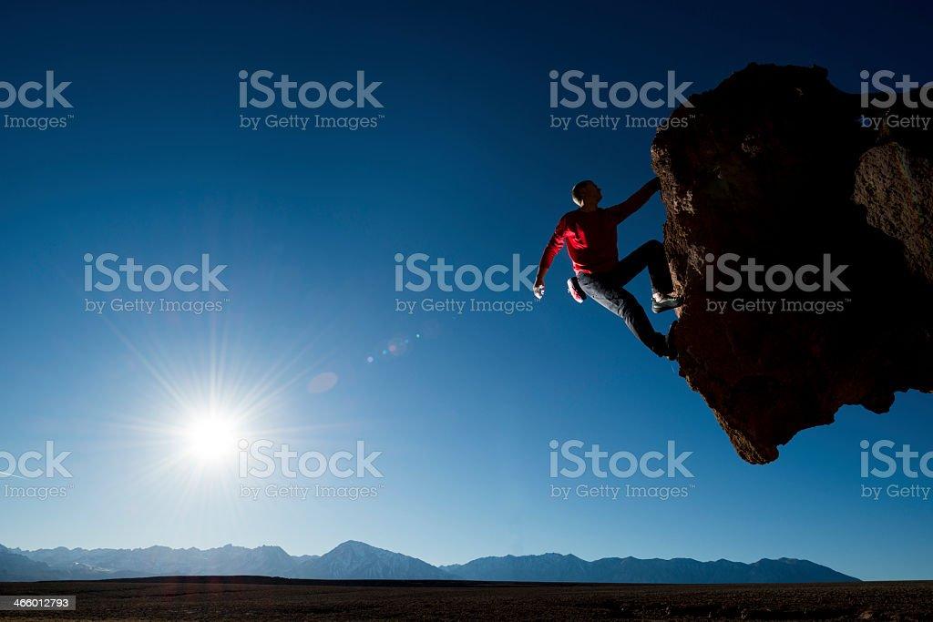 steep cliff stock photo