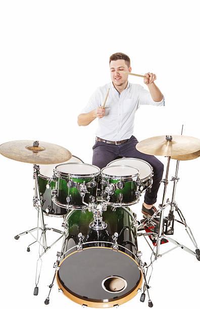 Steilen drummer – Foto