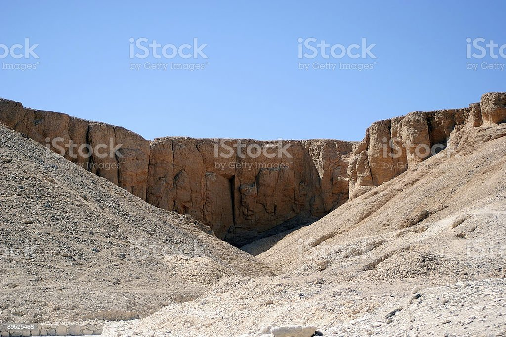 Steil in Libysche Wüste, Ägypten Lizenzfreies stock-foto