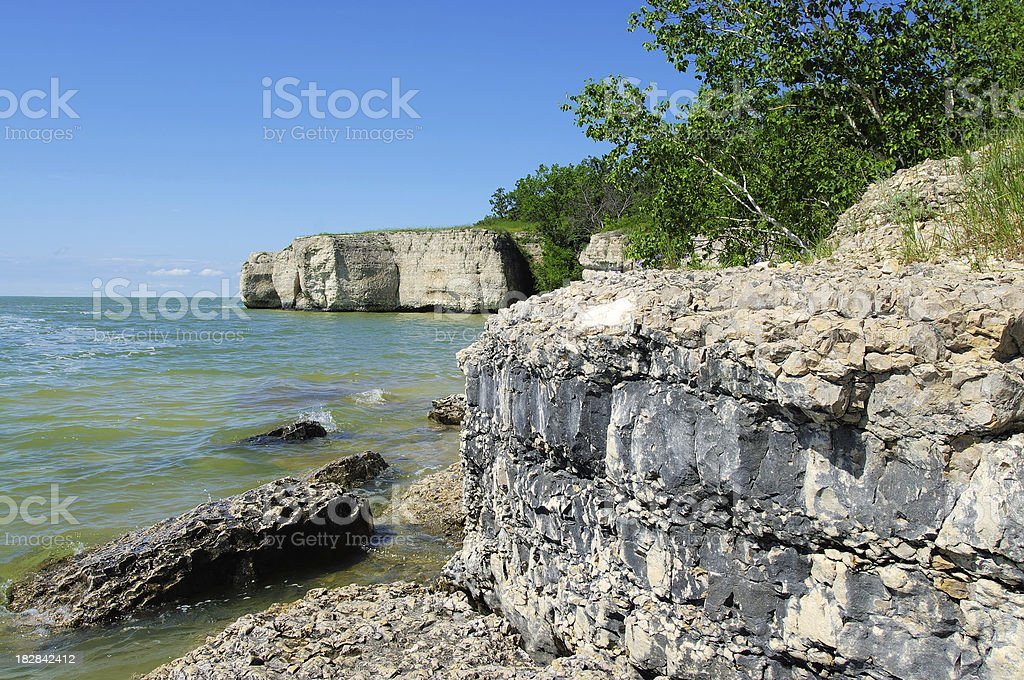 Steep Rock stock photo