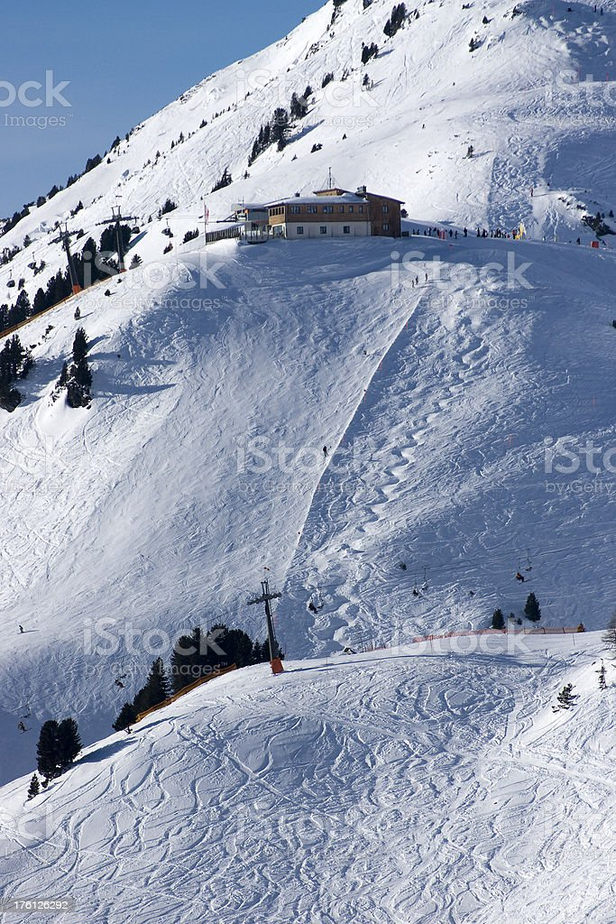 Steep Ski Slope Stock Photo - Download Image Now - iStock