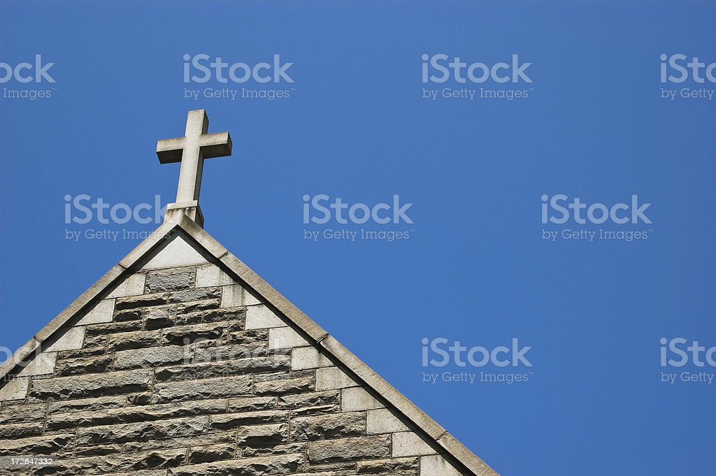 Steeple royalty-free stock photo