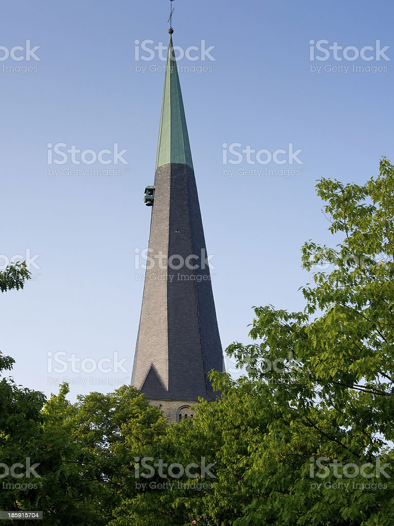 kirchturm royalty-free stock photo