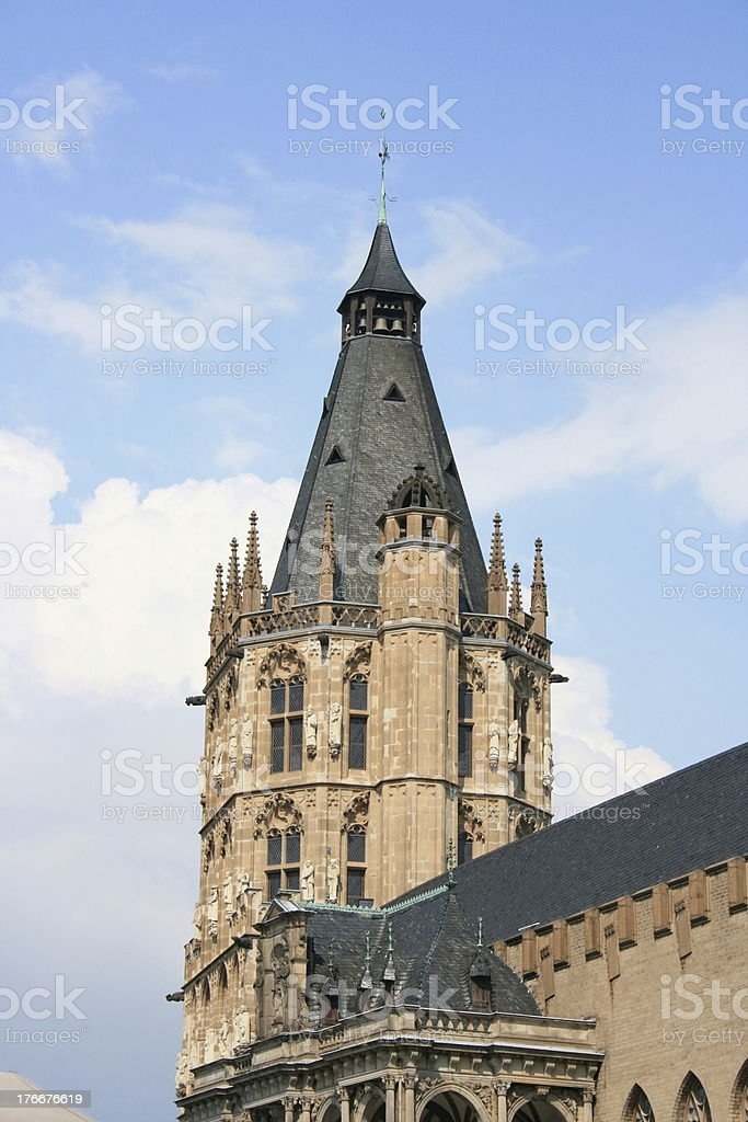 steeple tower royalty-free stock photo