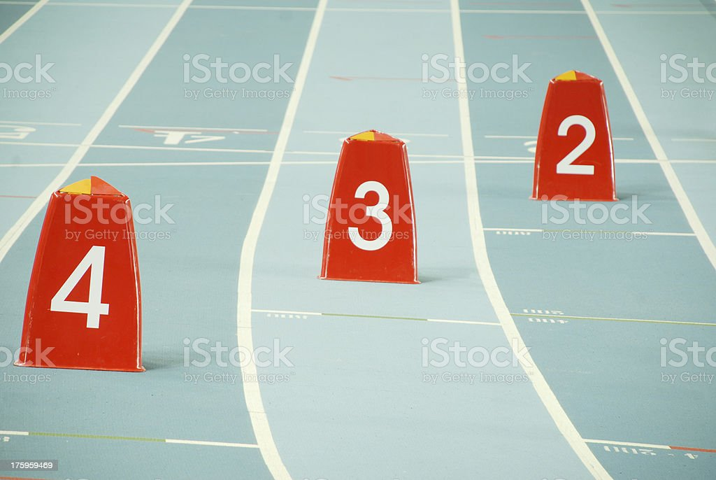 Steeplechase stock photo