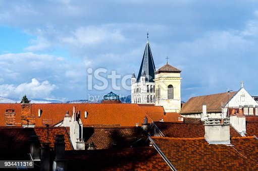 istock Steeples over Annecy France 934411316