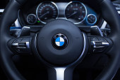 Steering of BMW