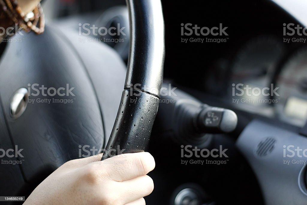Steering royalty-free stock photo