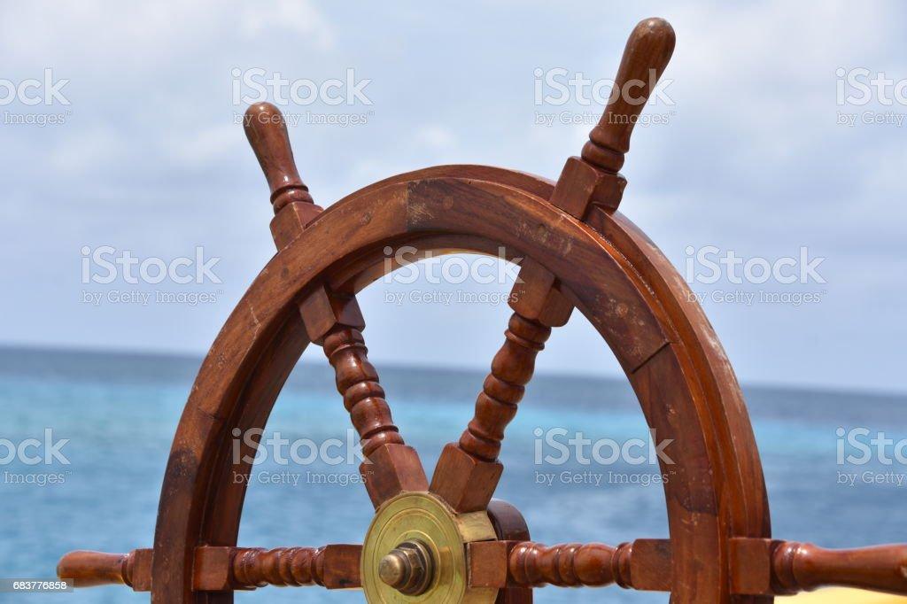 Volant de bateau - Photo