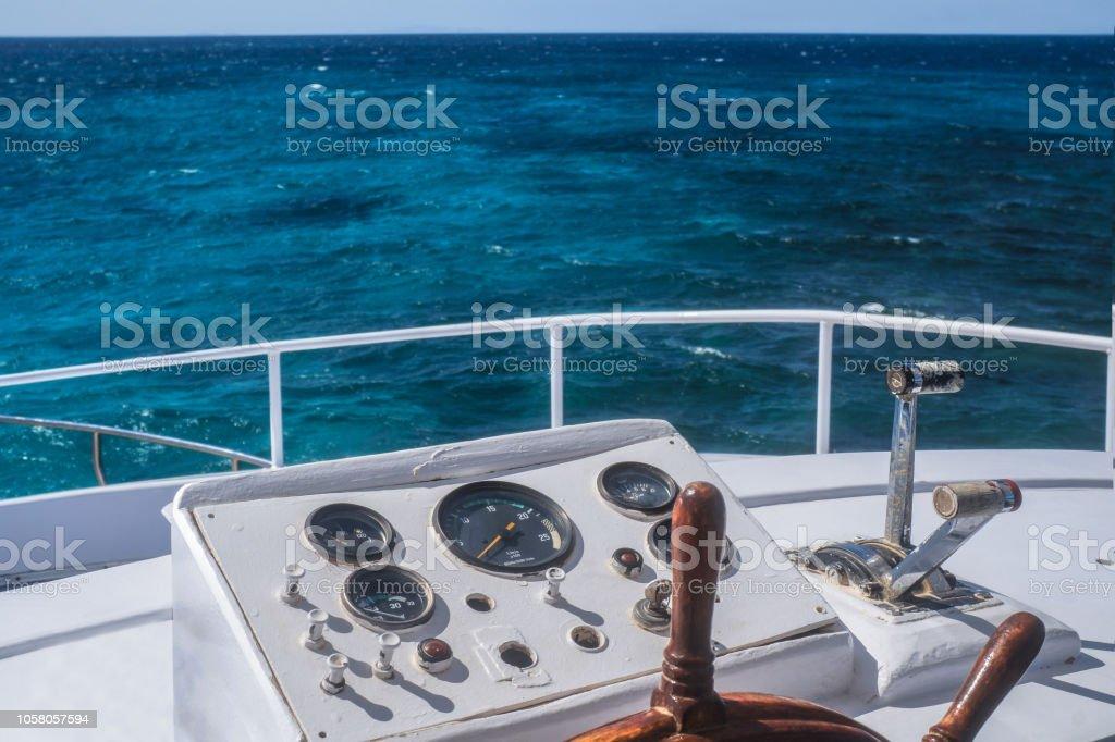 Nave volante rueda barco de madera 32 cm estillo antiguo