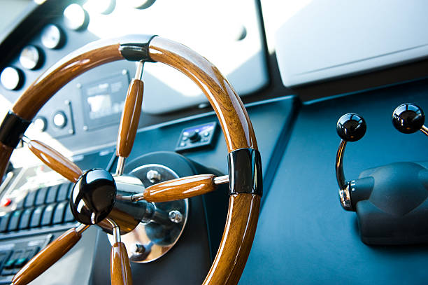 steering wheel - roeren stockfoto's en -beelden