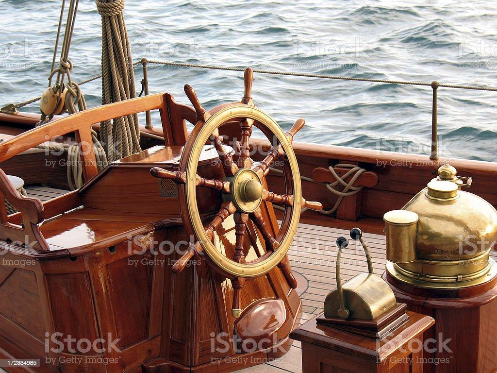 steering wheel royalty-free stock photo