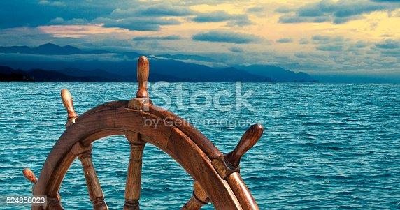 istock Steering wheel 524856023