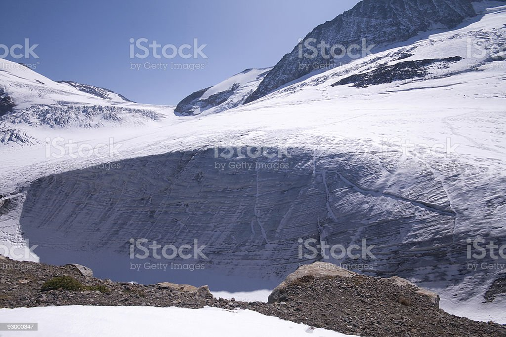 steigletscher Glacier royalty-free stock photo