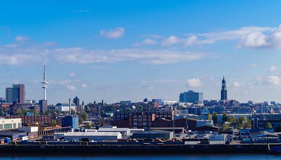 Steinwerder Hamburg Panorama