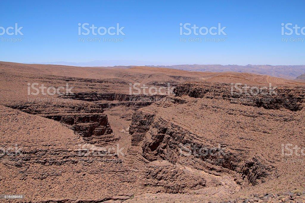 Steinwüste stock photo